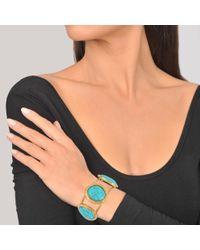 Sylvia Toledano - Blue Three Stones Cuff - Lyst