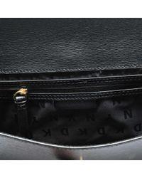 DKNY - Black Sutton Envelope Clutch - Lyst