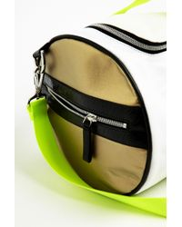 Monreal London - Yellow Warrior Bag White for Men - Lyst