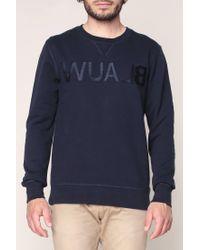 Scotch & Soda - Blue Sweatshirt for Men - Lyst