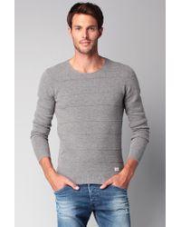 DIESEL | Gray Sweater & Cardigan for Men | Lyst