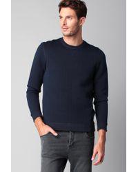 Ted Baker | Blue Sweatshirt for Men | Lyst