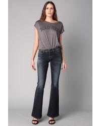 DIESEL   Blue Flared Jeans   Lyst