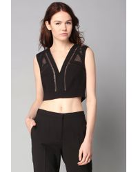 BCBGMAXAZRIA | Black Top | Lyst