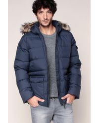 Pyrenex | Blue Quilted Jacket for Men | Lyst