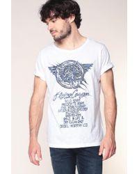 DIESEL | White T-shirt for Men | Lyst