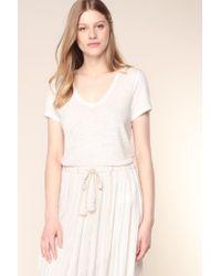 Vero Moda - White Short Sleeve Top - Lyst