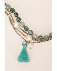 IKKS - Multicolor Necklace / Longcollar - Lyst