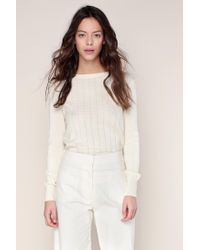 Sessun | White Jumper | Lyst