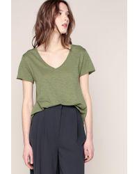 American Vintage - Green T-shirts & Polo Shirts - Lyst