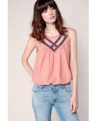 Vero Moda | Pink Top | Lyst