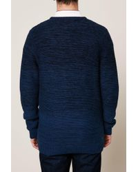 Jack & Jones - Blue Sweater & Cardigan for Men - Lyst