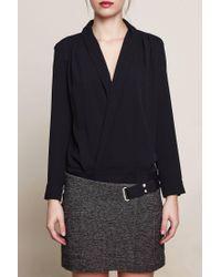 Ba&sh - Black Short Dress - Lyst