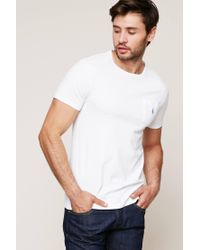 Polo Ralph Lauren - White T-shirt for Men - Lyst