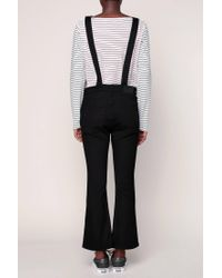 Cheap Monday - Black Dungarees - Lyst