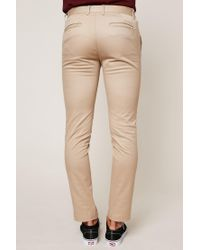 Lacoste - Natural Chinos for Men - Lyst
