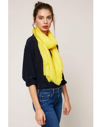 American Vintage - Yellow Scarve - Lyst