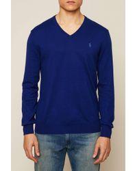 Polo Ralph Lauren - Blue Sweater & Cardigan for Men - Lyst