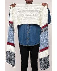 Pepe Jeans - White Scarve - Lyst