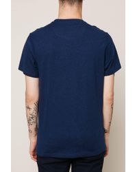 Farah - Blue T-shirt for Men - Lyst