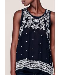 Pepe Jeans - Blue Top - Lyst