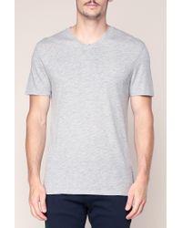 American Vintage - Gray T-shirt for Men - Lyst