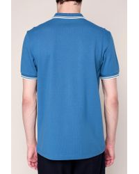 Fred Perry - Blue Polo Shirt for Men - Lyst