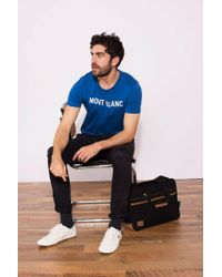Faguo - Blue T-shirt for Men - Lyst