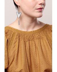 Pieces   Blue Earrings   Lyst