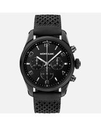 Montblanc Black Summit 2+ Smartwatch – Schwarz Mit Kautschukarmband