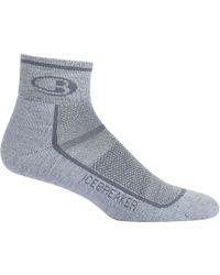 Icebreaker - Gray Multisport Mini Light Sock for Men - Lyst