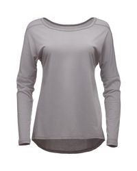 Black Diamond Gray Gym Pullover
