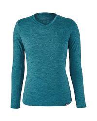 Patagonia - Blue Capilene Daily Long-sleeved T-shirt for Men - Lyst