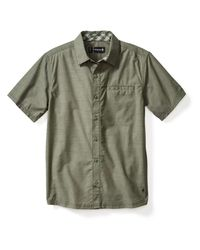 Smartwool - Green Summit County Chambray Ss Shirt for Men - Lyst