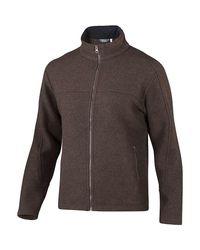 Ibex Brown Arlberg Jacket for men