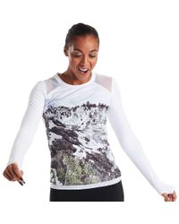 Oiselle - White Sarah Attar Muscle Ls Top - Lyst