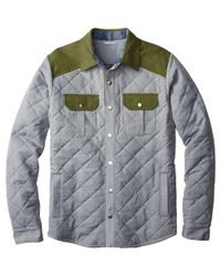 Smartwool - Gray Summit County Quilted Shirt Jacket for Men - Lyst