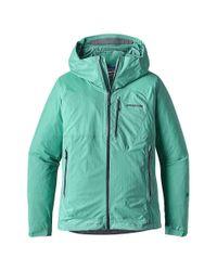 Patagonia - Green Stretch Rainshadow Jacket - Lyst