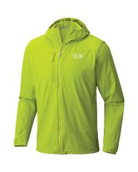 Mountain Hardwear - Green Super Chockstone Hooded Jacket for Men - Lyst