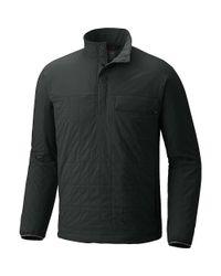 Mountain Hardwear Gray Escape Insulated Pullover for men