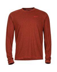 Marmot Red Saxon Shirt - Long-sleeve for men