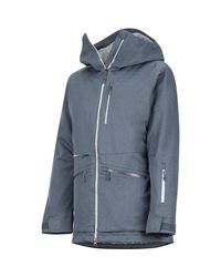 Marmot Blue Schussing Featherless Jacket