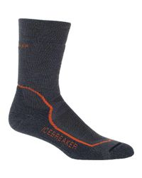 Icebreaker - Blue Hike+ Medium Crew Sock for Men - Lyst