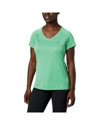 Columbia Green Zero Rules Ss Shirt
