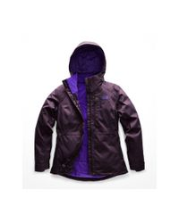 The North Face Purple Inlux 2.0 Insulated Jacket