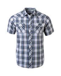 Mountain Khakis Blue Rodeo Ss Shirt for men