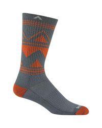Wigwam - Gray Gunnison Trail Nxt Sock for Men - Lyst