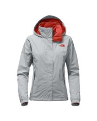The North Face - Gray Resolve 2 Hooded Jacket - Lyst