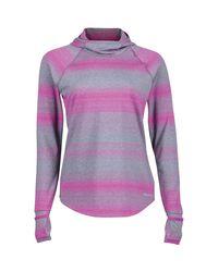 Marmot Purple Tranquility Hooded Shirt