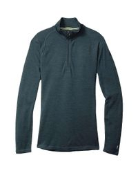 Smartwool | Blue Nts Mid 250 Zip T for Men | Lyst